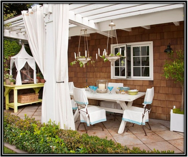 ideas to decorate your backyard