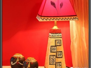 Handpainted Table Lamp - home decor ideas