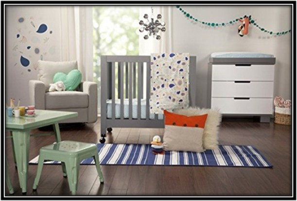 Mini crib set for the perfect bedding - home decor ideas