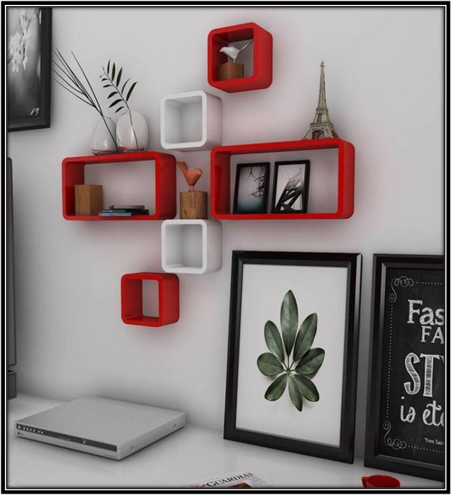 Spicing Up With Wall Shelf Home Decor Ideas