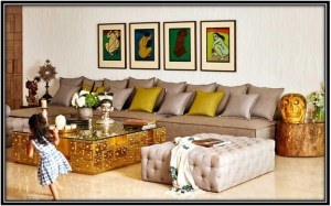 As colourful as Akshay's Inspired By Celebrity Homes Home Decor Ideas