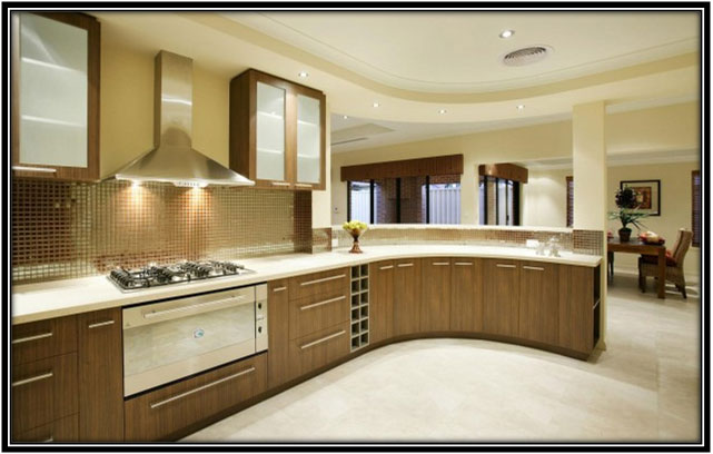 An Elegant Kitchen Area Katrina Kaif House Interior Home Decor Ideas