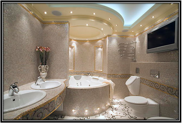 For A Crystal Looking Bathroom Luxury Bathroom Decoration Home Decor Ideas