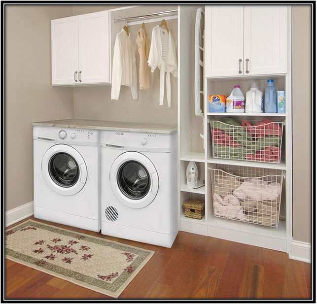 A Separate Laundry Room Laundry Room Decor Ideas