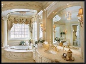Romantic Bathroom For The Royals Bathroom Decoration Ideas