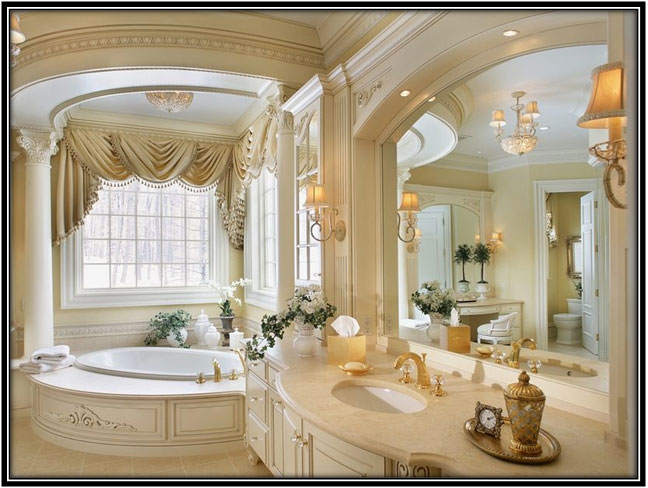 Romantic Bathroom For The Royals Bathroom Decoration Ideas