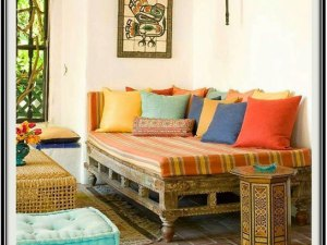 Side Table Indian Style - Home Decor Ideas