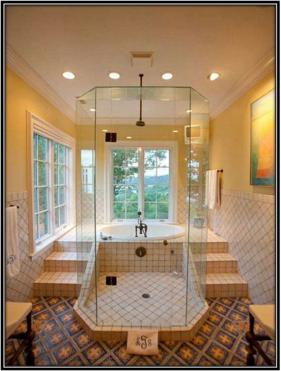 Smartly Planned Bathroom Spaces Home Decor Ideas