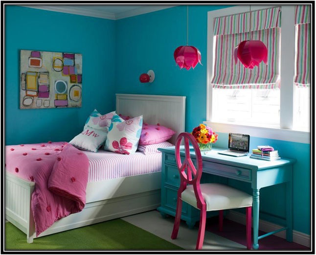 The Classic Combination Of Blue And Pink - Home Decor Ideas