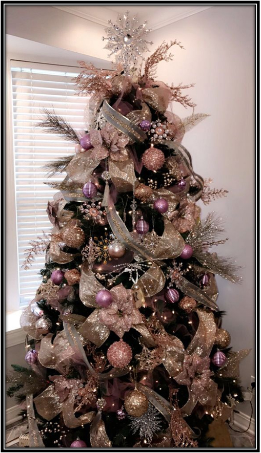 Decorating With Color Purple Christmas Tree Ideas