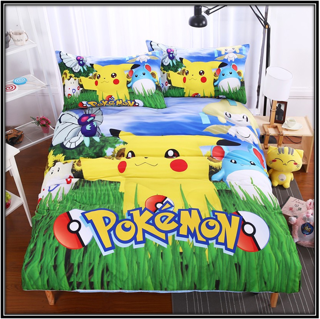 Pokemon Bed Linen Ideas Pokemon Bedroom Ideas