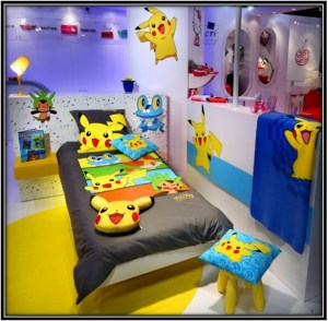 Pokemon Everywhere Pokemon Bedroom Ideas