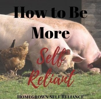 How To Be More Self Reliant