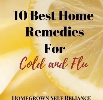 10 Best Remedies for Cold and Flu