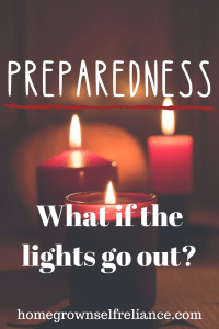 Is your family prepared for power outages? They will happen to pretty much everyone, at one time or another. Here is how you can prepare your family for power outages, either short- or long-term! #prepping #emergencyprep #lightsout