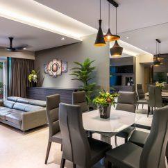 Living Room Design Ideas For Condos Cream Curtains Singapore Condominium Interior At The Grand Duchess