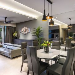 Wall Decor For Living Room Philippines Decorating Ideas End Tables Singapore Condominium Interior Design At The Grand Duchess