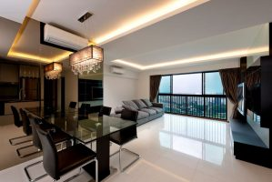 Home Interior Design in Singapore for The Pinnacle at Duxton