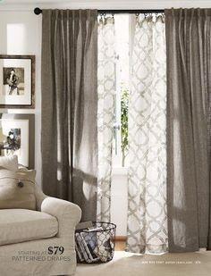 tende eleganti per soggiorno 24 idee chic casafacile. Tende Moderne Dai Tessuti Innovativi Homehome