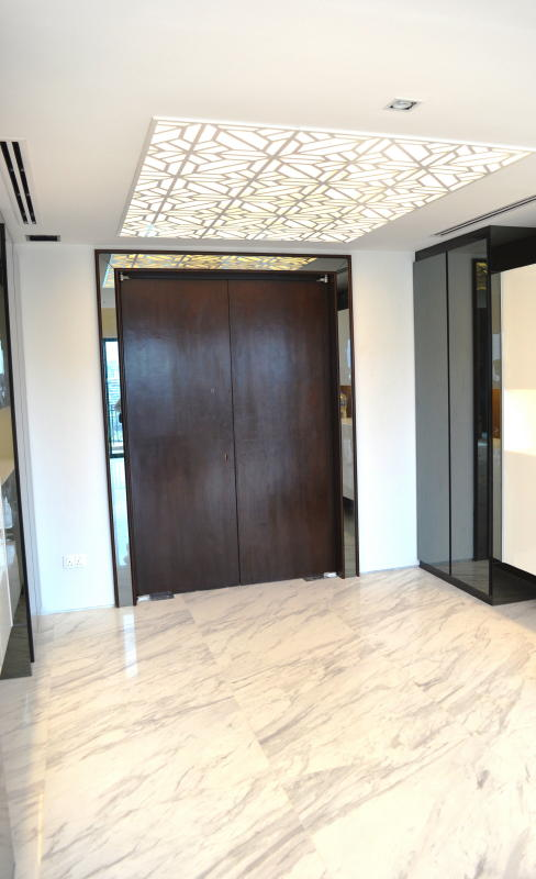 Penthouse Double Storey Modern Oriental Front Foyer of the House  Home Hub and Living