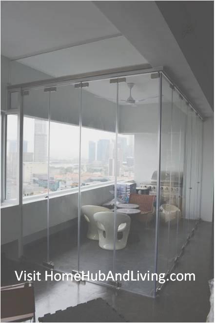 Singapore Luxury HighEnd City Residential Designer House Prefer Frameless Doors System for