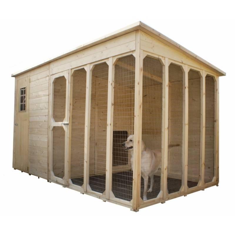 Casetta 371 x 174 cm per cani Casette per cani