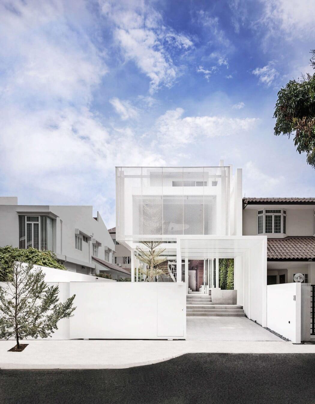 Unique Contemporary House Interior; The Greja House