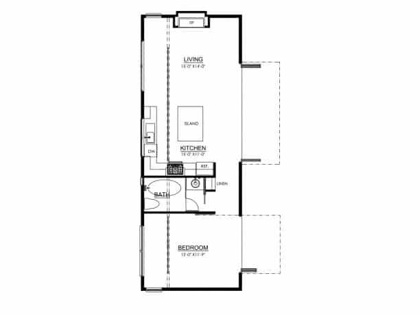 7 Trendy Tiny House Floor Plans in 2016 – Tiny House Living Floor Plans
