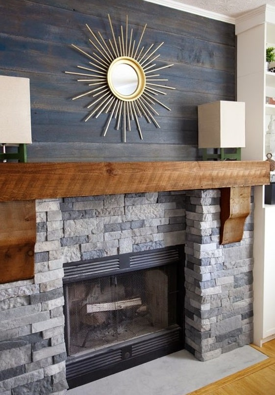 12 Stunning Ideas to Make your Brick Wall Fireplace Unique - Home Ideas HQ