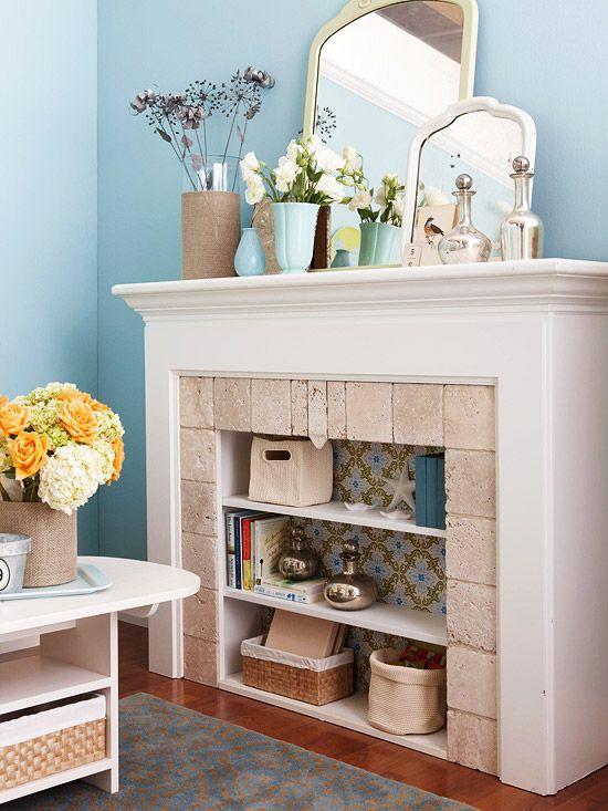 decorative fireplace ideas 10