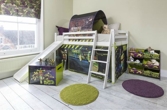 ninja turtle room ideas 12