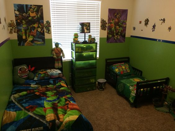 ninja turtle room ideas 14