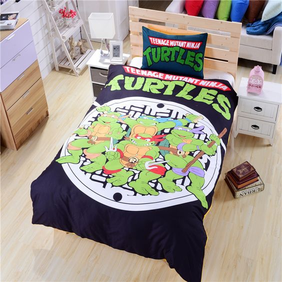 ninja turtle room ideas 5