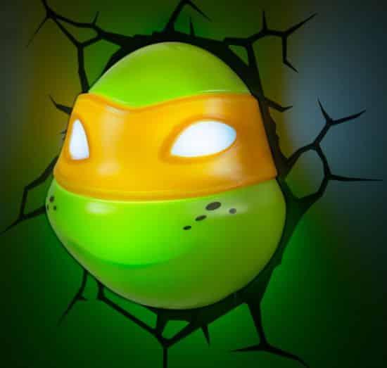A Stunning Ninja Turtle Lamp Idea. ...