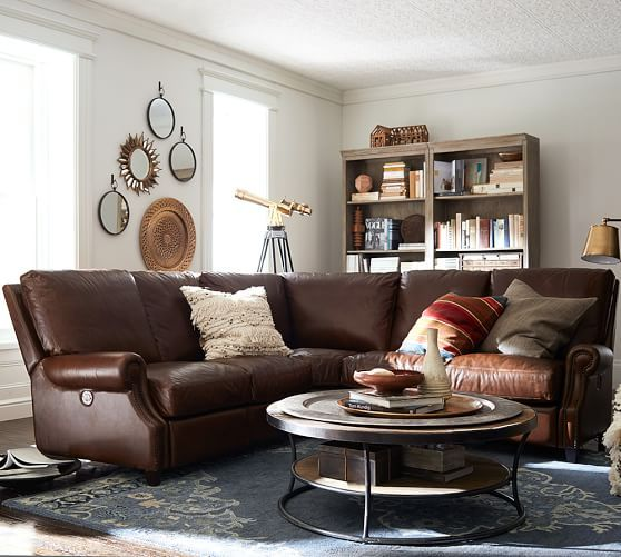Brown Business For A Pottery Barn Living Room. Pottery Barn Living Room  Ideas 6