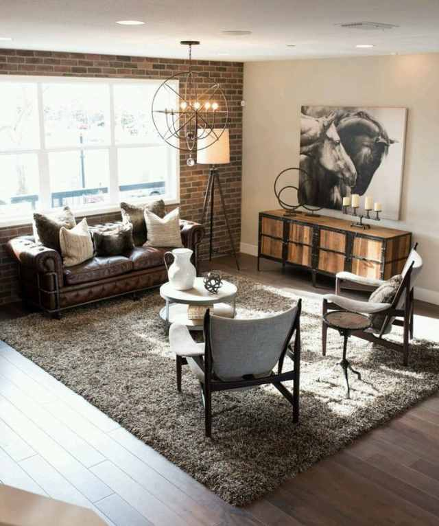 rustic ideas for living room 10