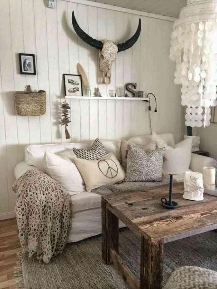 Diverse Rustic Ideas to Make your Living Room Desirable and Unique ...