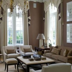 Window Treatment Ideas For Large Living Room Decorating With Green Walls Astonishing Treatments Windows In Rooms 11