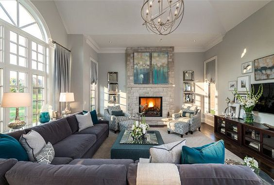 Fantastic Effective Living Room Layouts For Your Fireplace And Tv Download Free Architecture Designs Sospemadebymaigaardcom