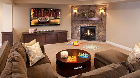 Effective Living Room Layouts for your Fireplace and TV ...