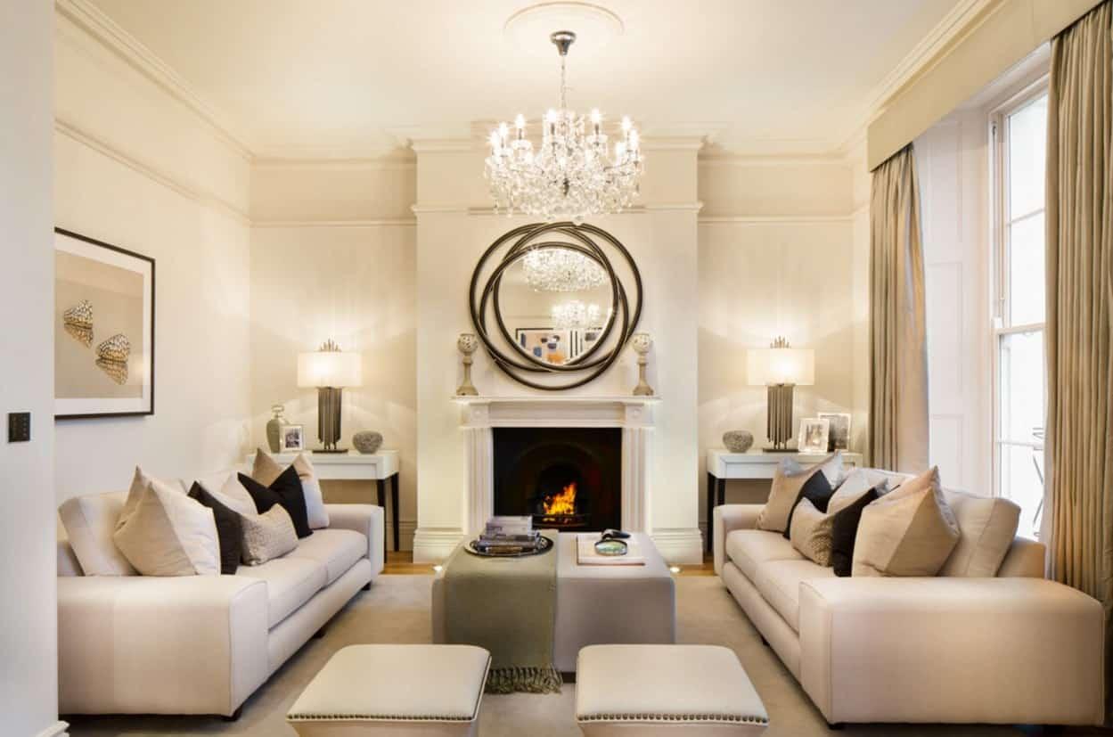 Mid Century Modern Sofa Set Designs For Living Rooms. ...