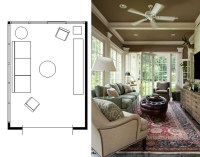 Living Room Furniture Layout With Fireplace. Living Room