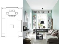 Marvelous Narrow Living Room Layouts: Solutions and ...