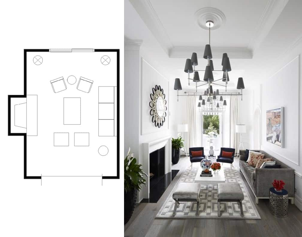 Marvelous Narrow Living Room Layouts Solutions and