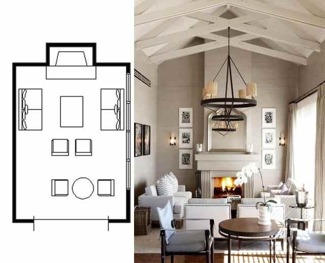 narrow living room layouts 8