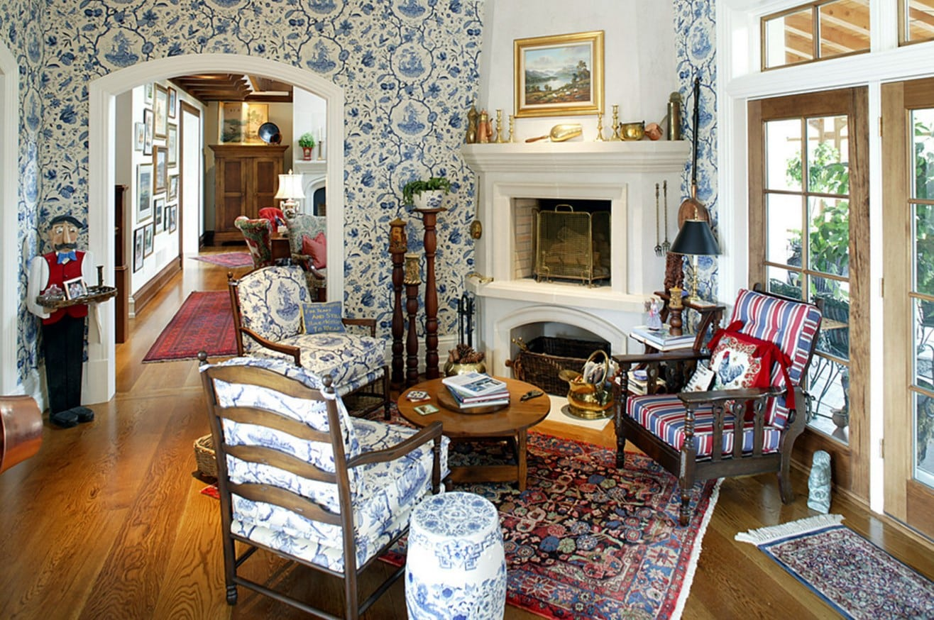 Great Ideas On How To Achieve A Country Living Room  Home