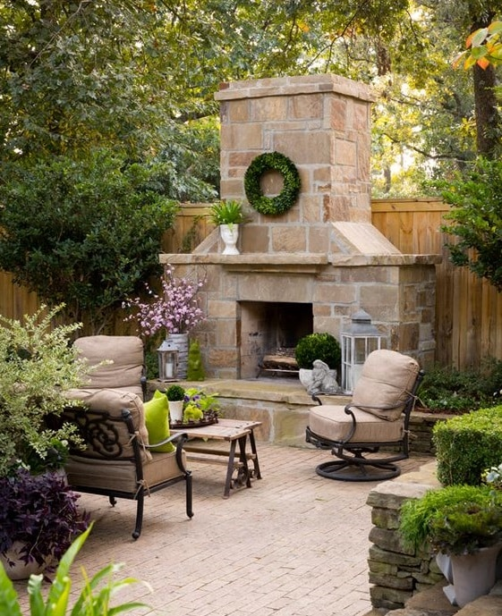 Significant outdoor fireplace ideas for your outdoor for Patio fireplace plans