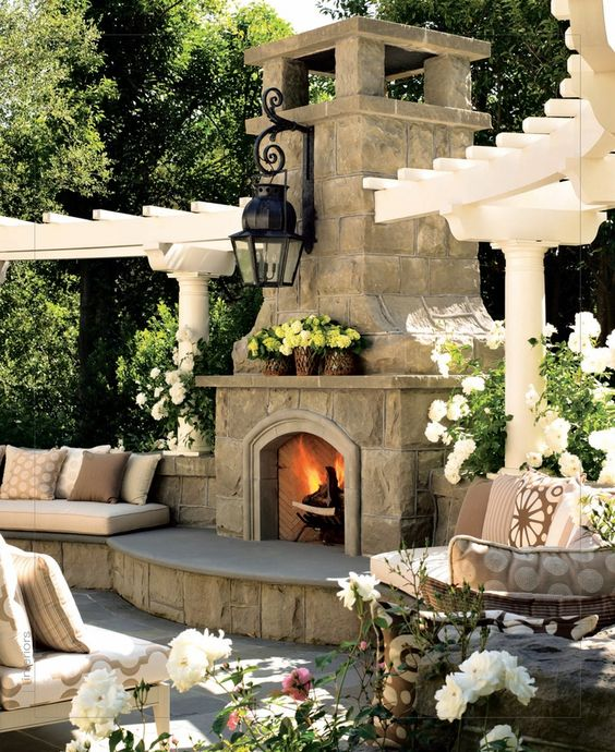 Significant Outdoor Fireplace Ideas For Your Outdoor Spaces Home