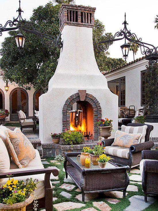 outdoor fireplace ideas 3.b