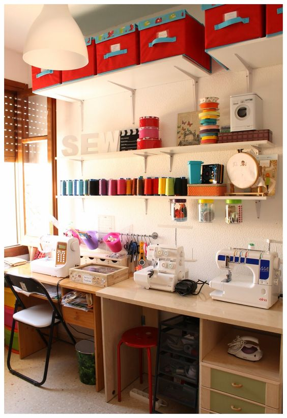 sewing room ideas 1.a.iii